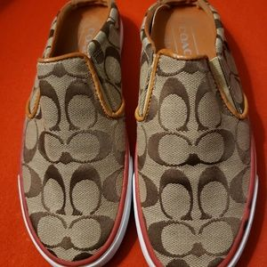 Coach Slip On Sporty Shoes 7.5